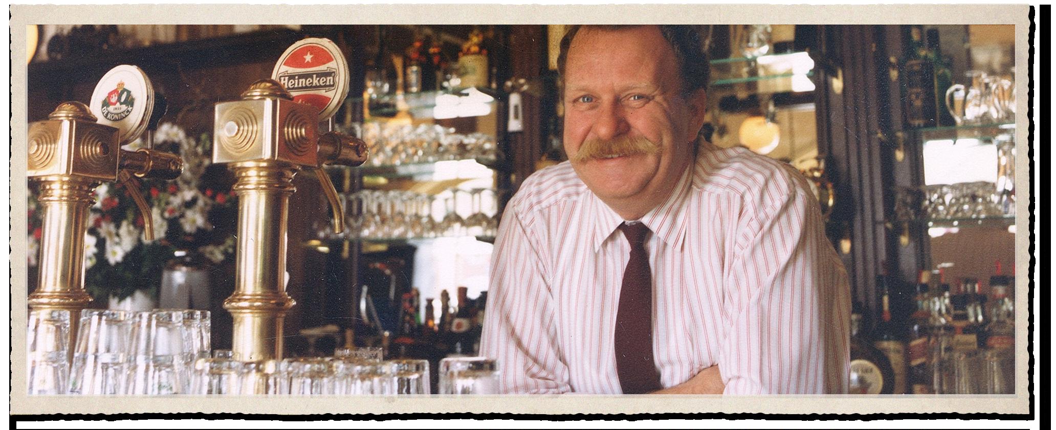 Herman, de founding father van Café De Pompier