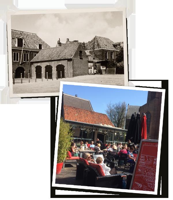 Café De Pompier aan de Groenendaal in Woerden
